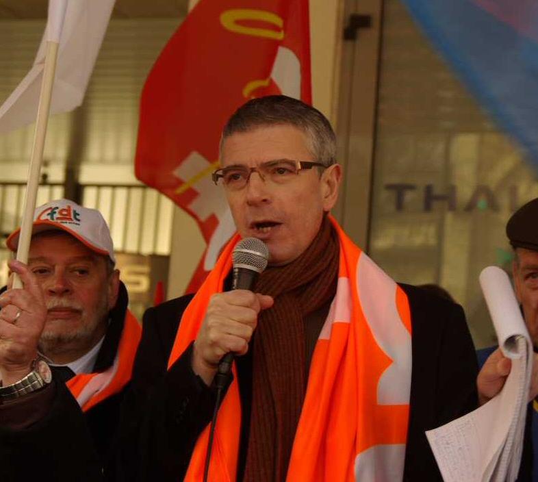 Didier Gladieu, porte-parole le 11 mars